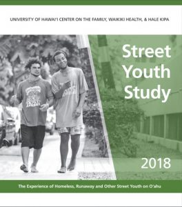 cover image of Youth Experiencing Homelessness report